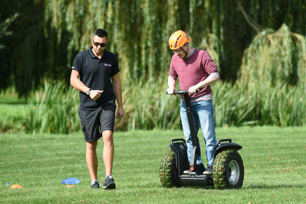 Segway instructor guidance