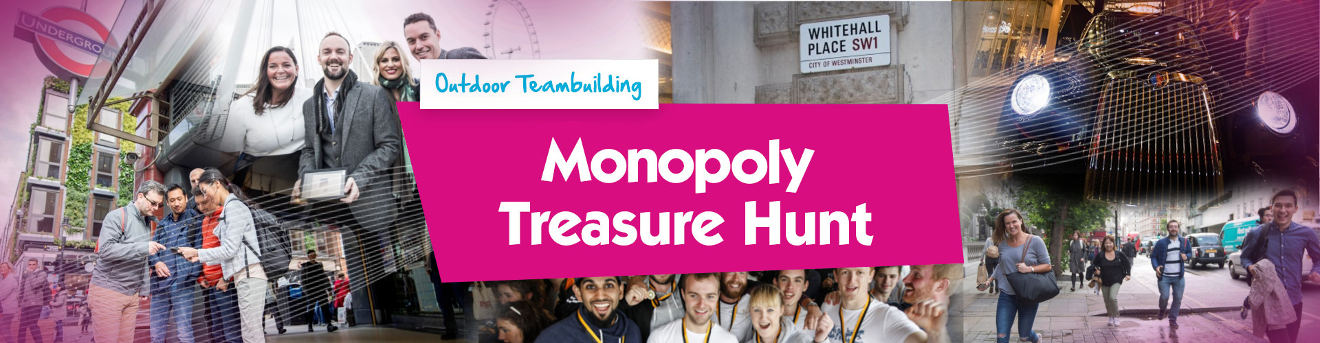 Monopoly Treasure Hunt Banner