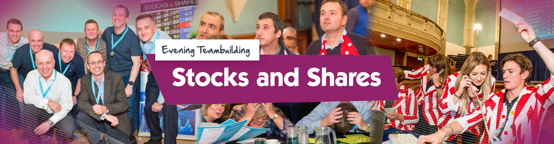 Teambuilding | Stocks & Shares