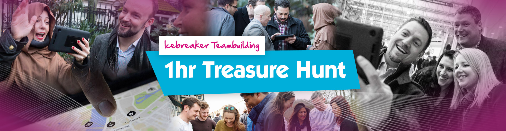 Teambuilding | 1hr Treasure Hunt