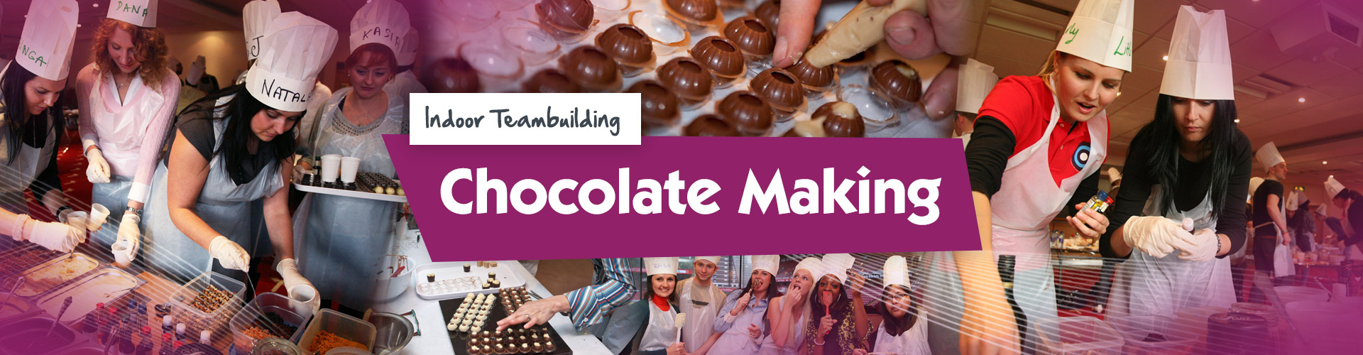 Chocolate Making Team Building Event