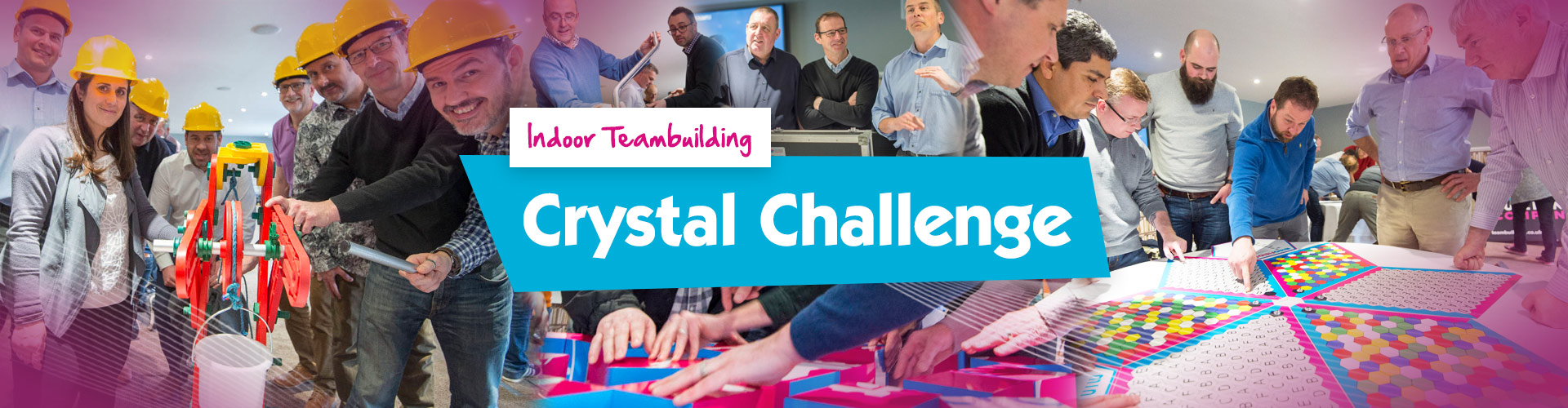 Indoor Crystal Challenge Team Activity