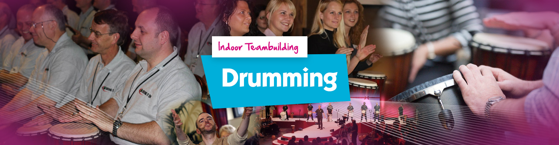 TB IndoorEvents 1920x500 Banner Drumming