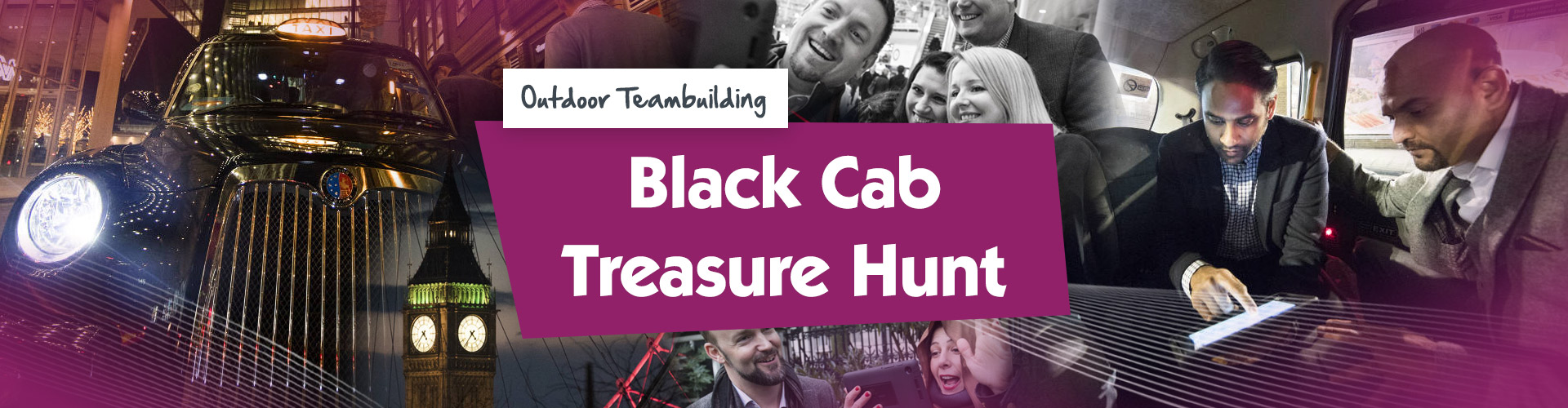 Teambuilding | Black Cab Treasure Hunt