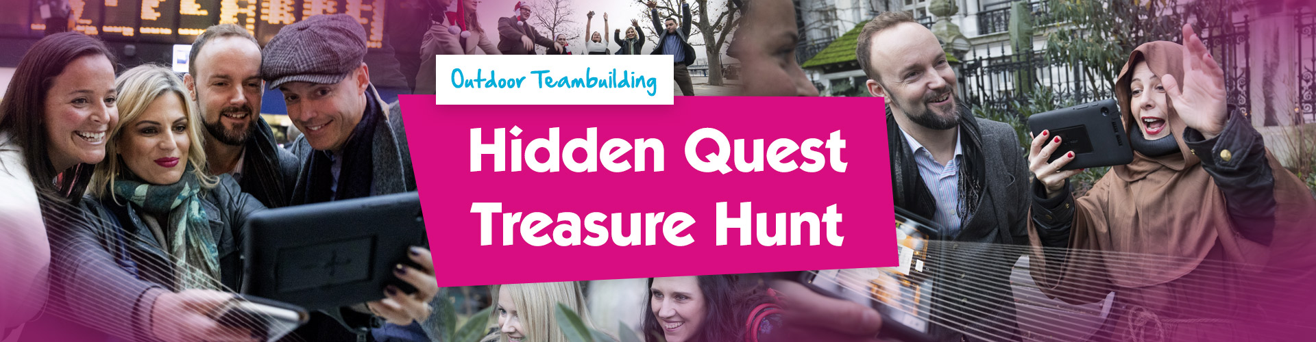 Teambuilding | Hidden Quest Treasure Hunt