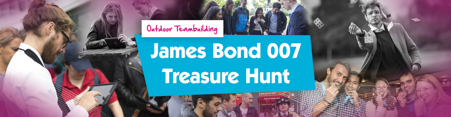 Teambuilding | James Bond 007 Treasure Hunt