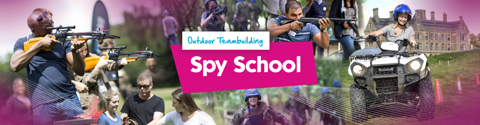 Teambuilding | Spy School