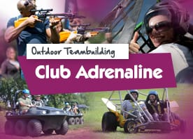Club Adrenaline team building activities