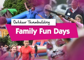 Family Fun team building activities