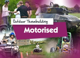 Motorised outdoor team building