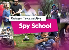Spy School team building event