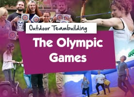 Olympic Games outdoor team building activities