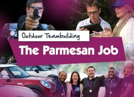 Parmesan Job team building event