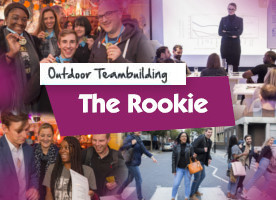 The Rookie team building event