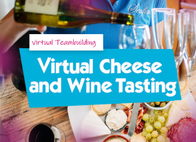 Virtual Cheese and Wine Tasting Event