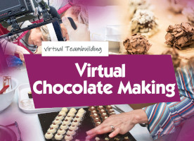 Virtual Chocolate Making team building activities