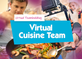 Virtual Cooking event team building activities