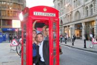 Telephone box challenge
