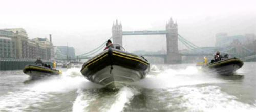 Rib charter team building in London