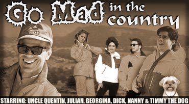 Go mad poster