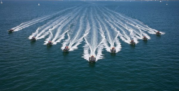 Rib charter fleet on the Solent